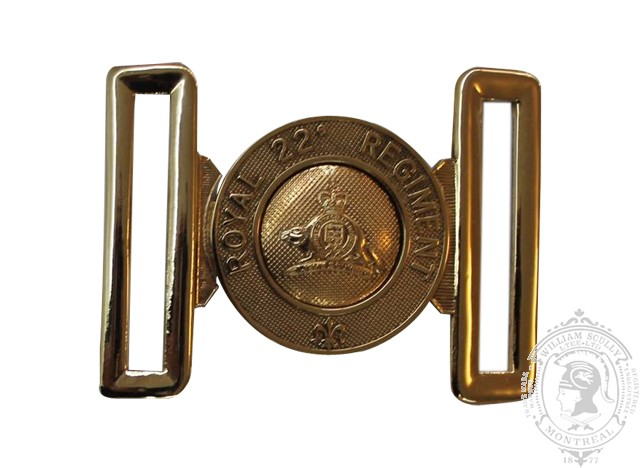 ROYAL 22e RÉGIMENT INTERLOCKING BUCKLE