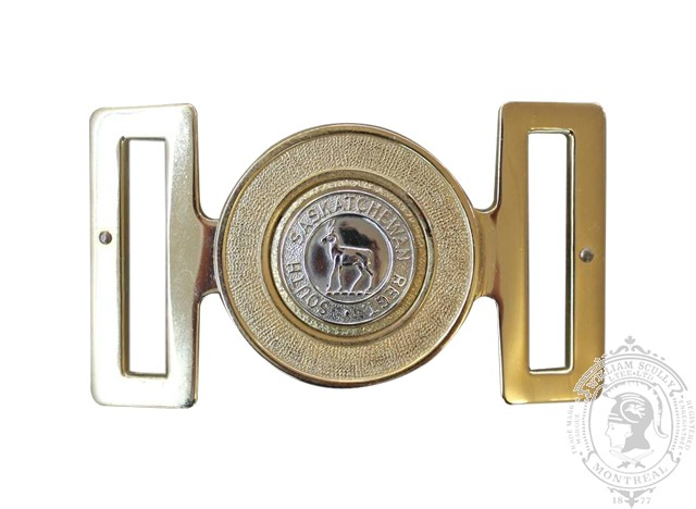 THE SOUTH SASKATCHEWAN REGIMENT INTERLOCKING BUCKLE