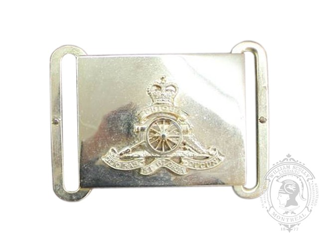 ROYAL CANADIAN ARTILLERY CEREMONIAL BUCKLE (STYLE 1)