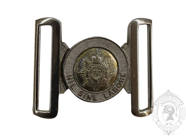 ROYAL CANADIAN ARMY SERVICE CORPS INTERLOCKING BUCKLE