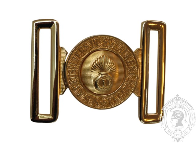 LES FUSILLIERS DU ST-LAURENT INTERLOCKING BUCKLE