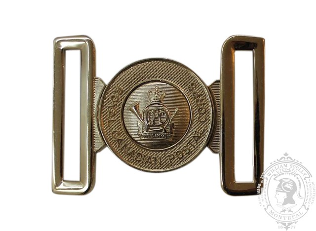 ROYAL CANADIAN POSTAL CORPS INTERLOCKING BUCKLE