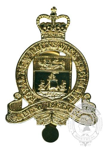 The Royal New Brunswick Regiment Cap Badge