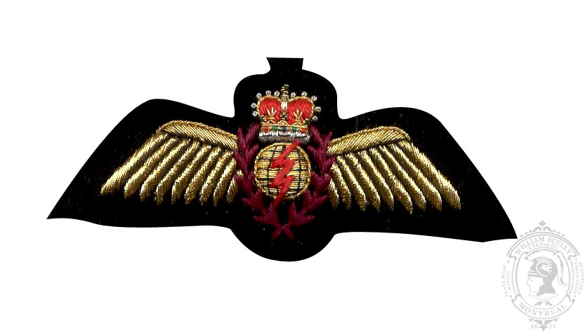 Navigator Wing, Embroidered