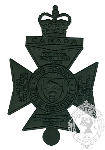 The Royal Regina Rifles Cap Badge