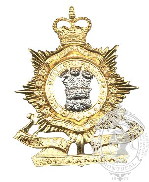 The Royal Regiment of Canada Cap Badge