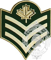 CF Sergeant Collar Rank (pair)