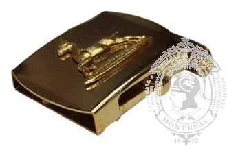 THE ROYAL CANADIAN DRAGOONS SLIDE BUCKLE