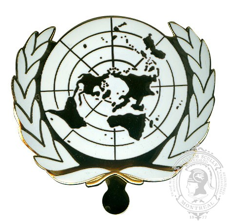 United Nations Cap Badge