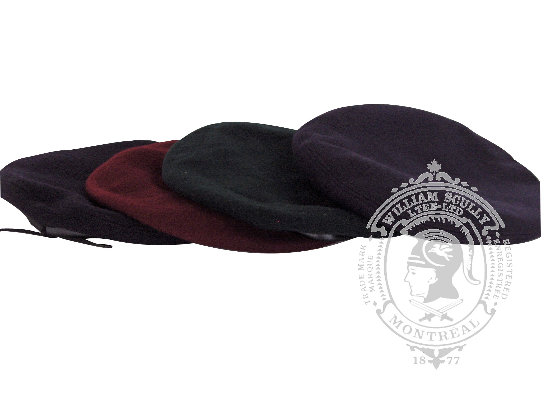 Assorted CF Berets (standard and small crowns)