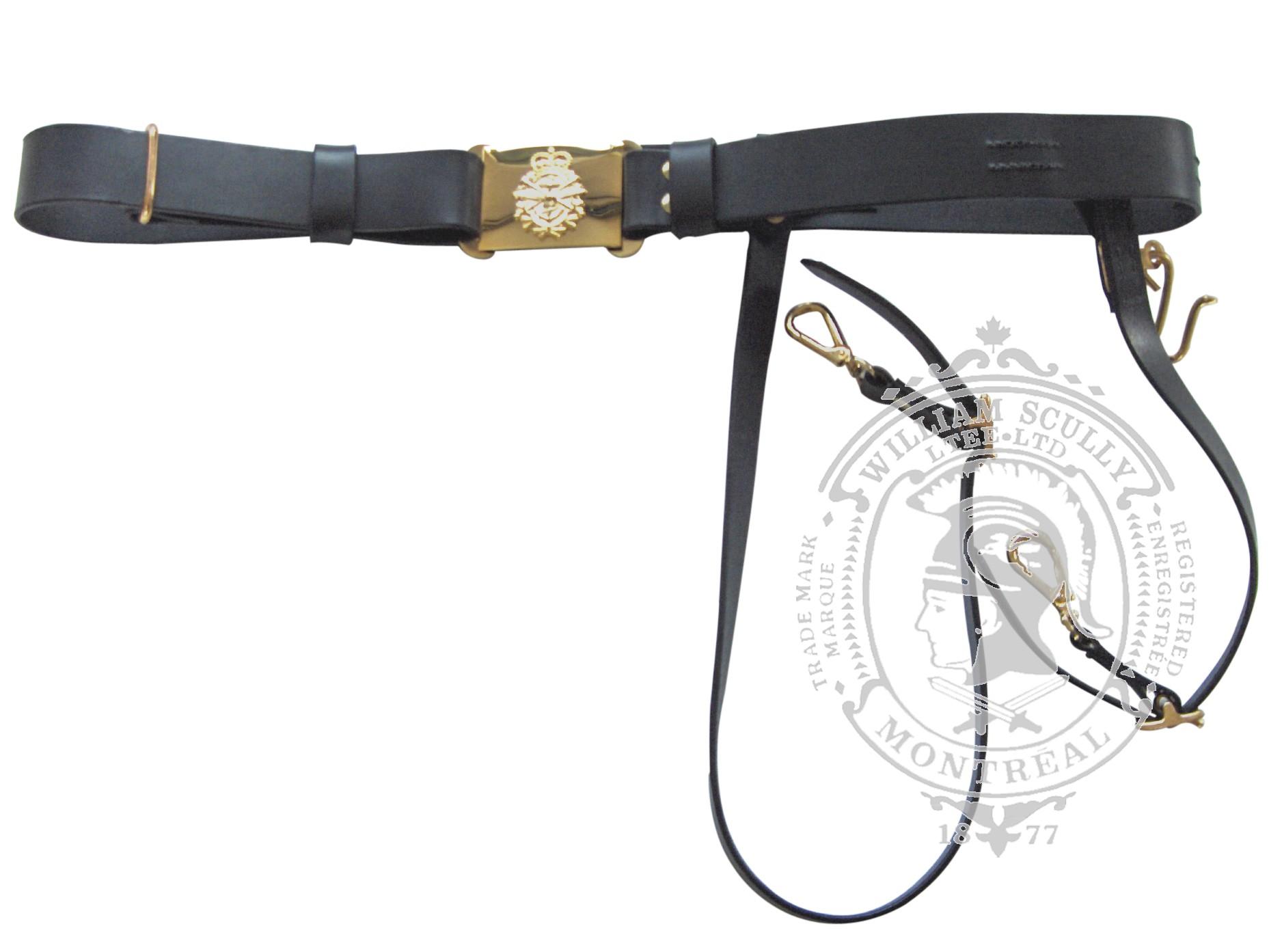 Naval Pattern Sword Belt