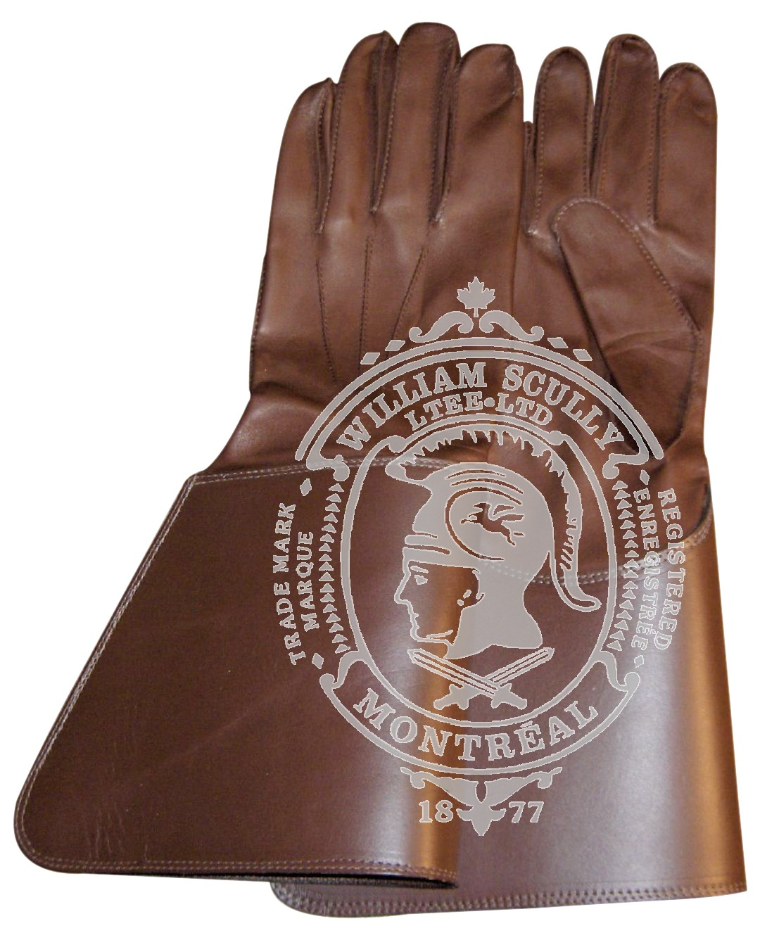 Brown RCMP Gauntlets