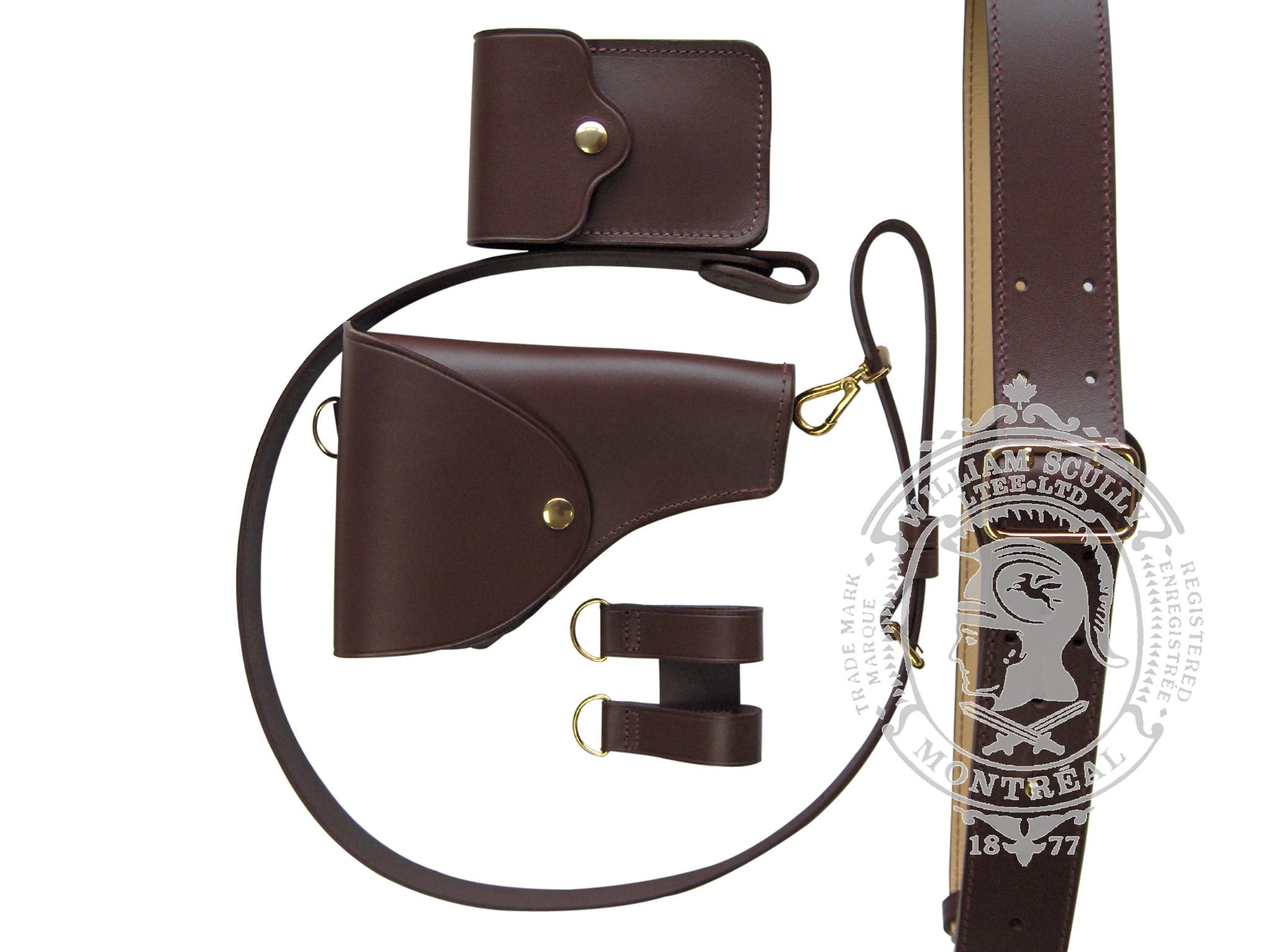 Sam Browne Belt - Complete Kit