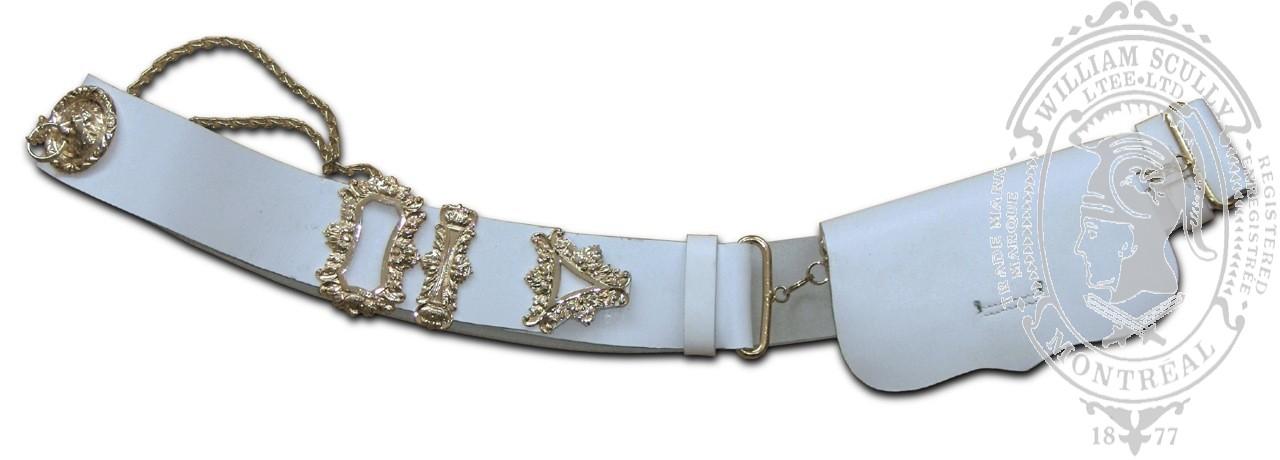 Cross Belt with Cartouche