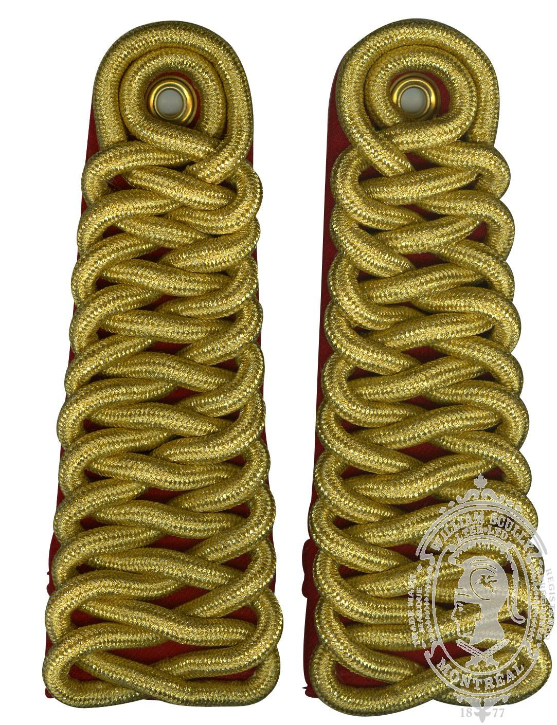 RCMP Shoulder Cords