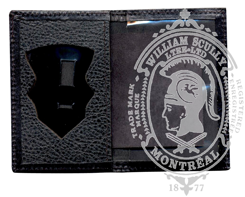 Leather Case for Firefighter Badge