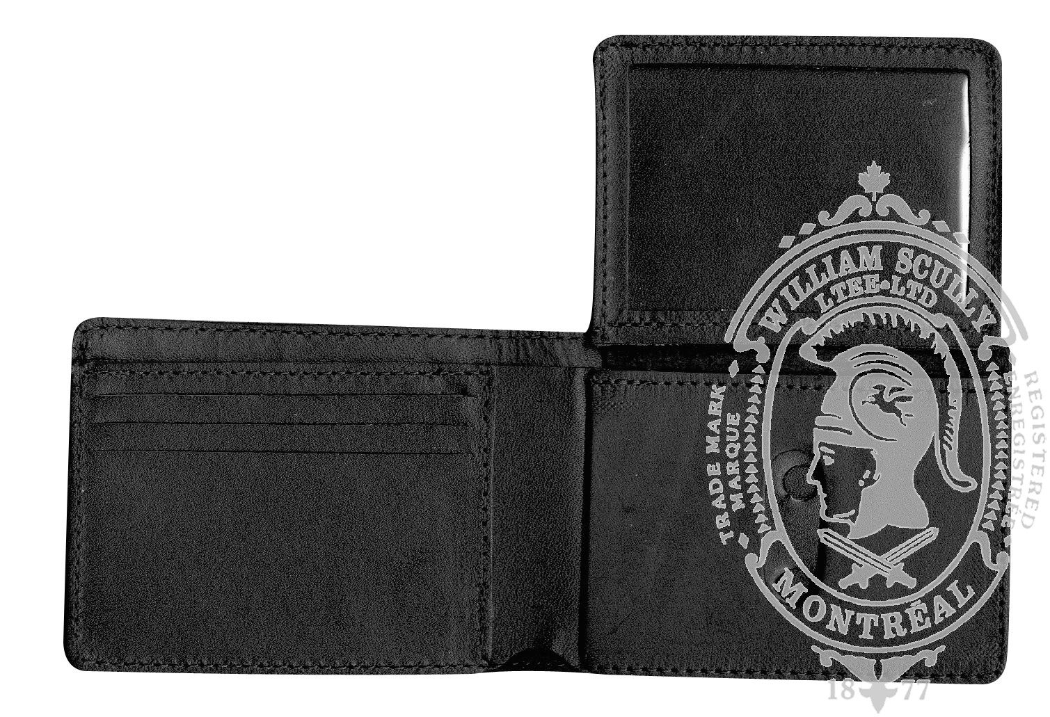 Standard Leather Badge Wallet (V)