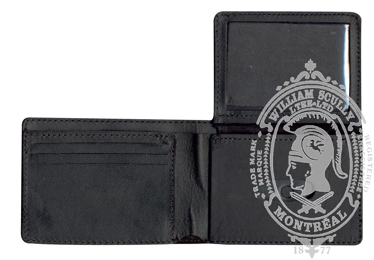 Standard Leather Badge Wallet (H)