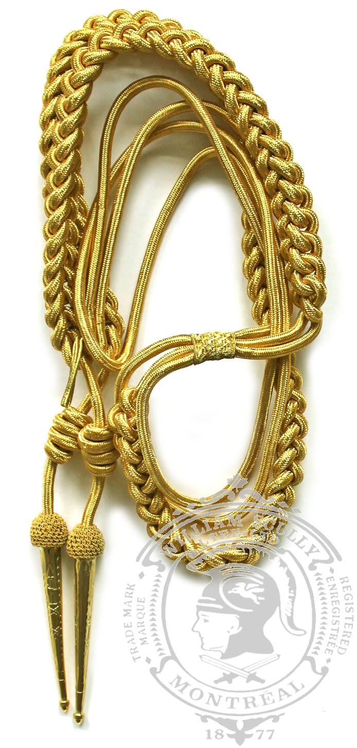 2% Real Gold Aiguillette