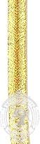 4mm Gold Soustache (mtr)