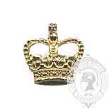 Miniature 6-1019 Rank Crown w/ screw post (pair)