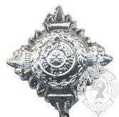 Silver 6-1023S Rank Pip (push pins/eyelets)