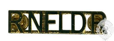 ROYAL NEWFOUNDLAND REGIMENT SHOULDER TITLES