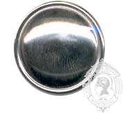 Plain Dome and Rim Military Button