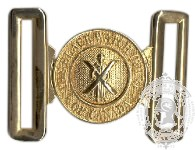 Black Watch Interlocking Ceremonial Belt Buckle