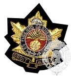 Fusiliers de Sherbooke Blazer Crest