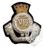 8th Canadian Hussars Blazer Crest