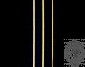 CAFC Braid, 3 Gold Bars (mtr)