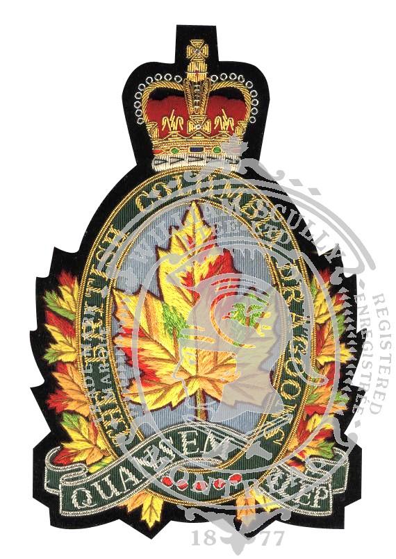 Écusson de veston British Columbia Dragoons