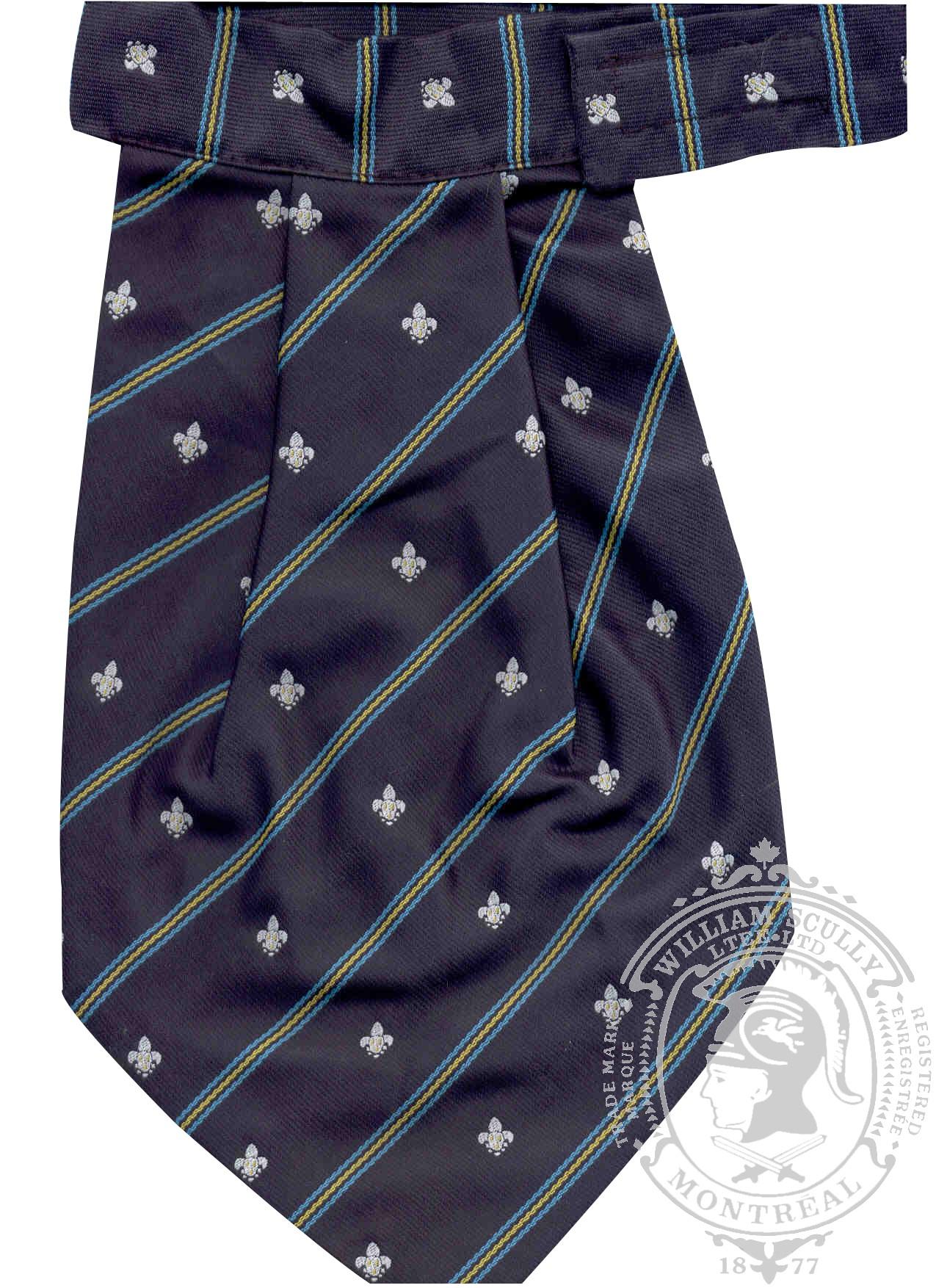 Cravates ascots regimentales