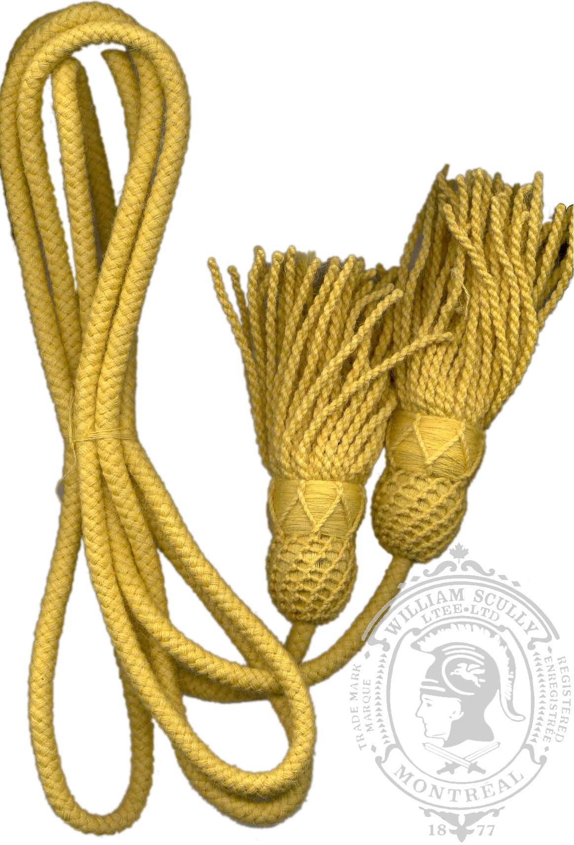 Corde jaune clairon