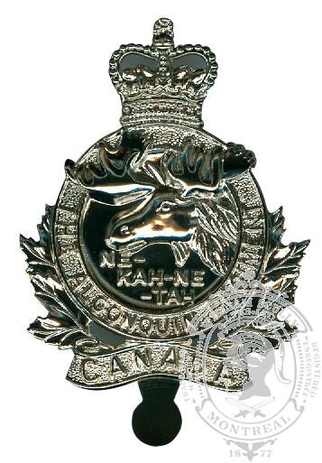 Insigne de képi Algonquin Regiment
