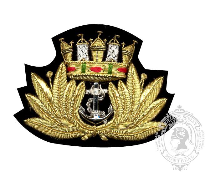 Écusson de képi Ligue naval de Canada