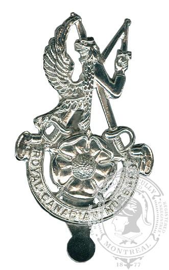 Insigne de képi Royal Canadian Hussars