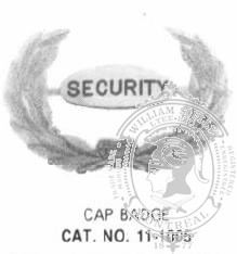 11-1005 Security Badge