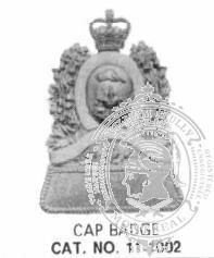 11-1002 Cap Badge