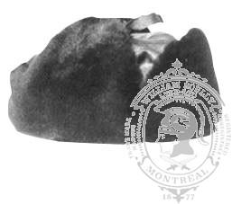 3-1002 Képi style Yukon Immitation Mouton