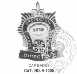 9-1000 Cap Badge Protection