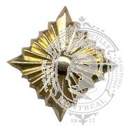 Étoile 6-1025 avec vis (paire)