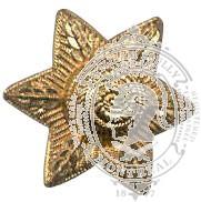 Étoile 6 points 6-1046 avec oeillets (paire)