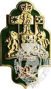 Insignes de collet FC adjudant chef de brigade (paire)