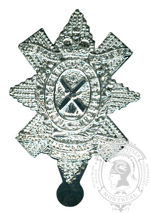 Insigne de képi Black Watch (RHR) of Canada