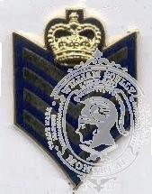 Insignes de collet sergent major GRC (paire)