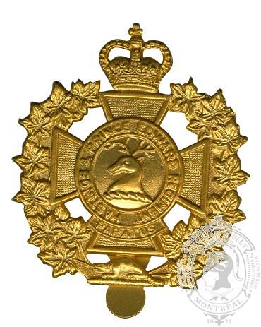 Insigne de képi Hastings and Prince Edward Regiment