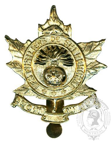 Insigne de képi Les Fusiliers de Sherbrooke