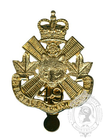 Insigne de képi Loyal Edmonton Regiment